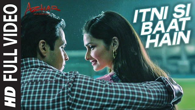 Itni si baat hai lyrics - Arijit Singh & Antara Mitra | lyrics for romantic song