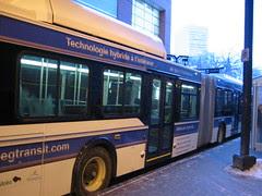 New Hybrid Bus