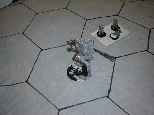 AT-ST outflanks Tauntauns