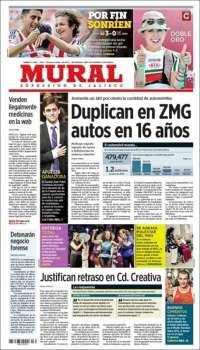 Periodicos De Jalisco Mexico Edicion De Lunes 8 De Septiembre De