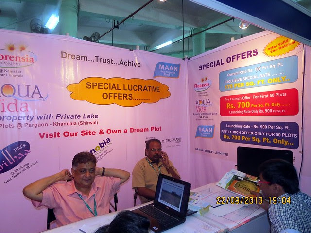 www.bmpropmark.com - Agrowon Green Home Expo 2013 Season 3 - Exhibition of Weekend Homes, 2nd Homes, Farm House Plots, N A Plots & Bungalow Plots  - 21st & 22nd September 2013