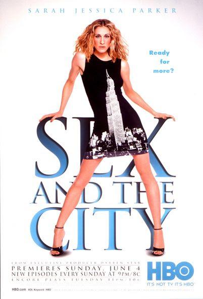 Resultado de imagen de sex and the city serie poster