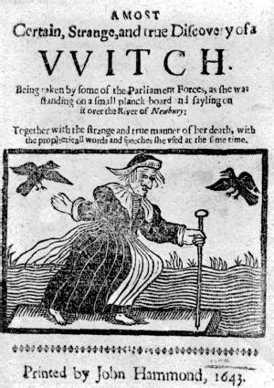 Origins of Testing the Witch-finder General