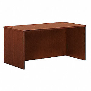 BASYX BY HON Office Desk Shell, 60 x 29 x 30 In, Cherry ...