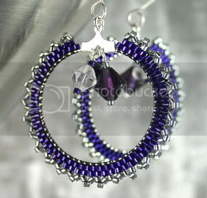 Purple Hoops
