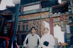 Manchester's China Town, Manchester, UK