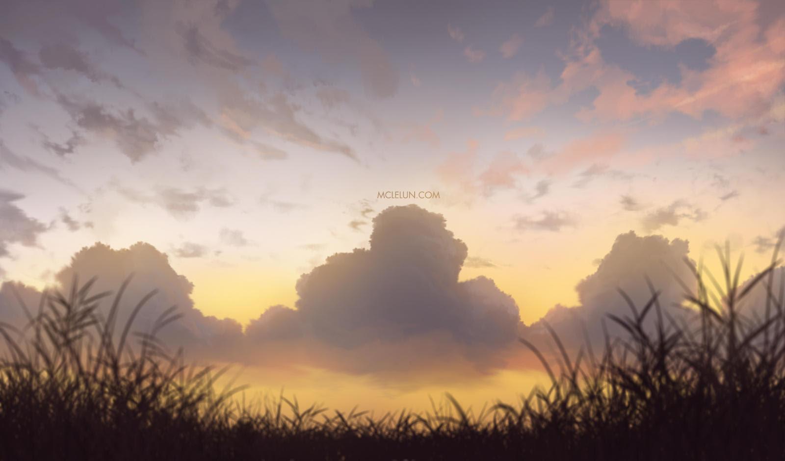 Sunset muar