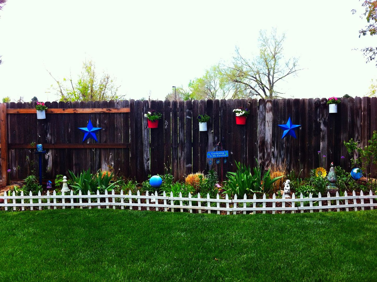Kathe With An E Wooden Fence Project