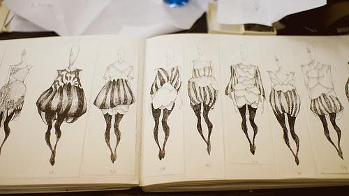 Fashion Illustration by Emily via ParkandCube