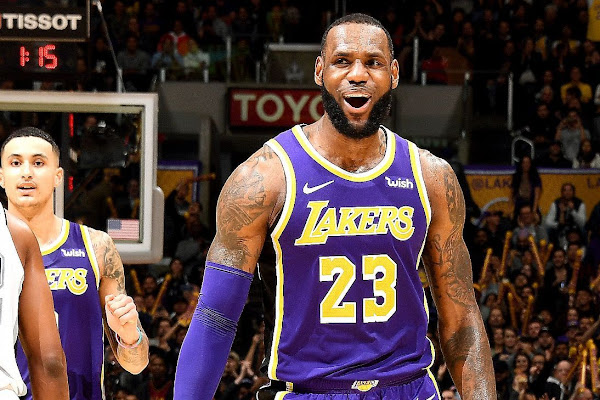 61fcc6ae839 Google News - LeBron James leads Lakers past Spurs - Overview