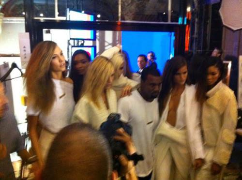 shadesofourlives:  Kanye West Backstage.