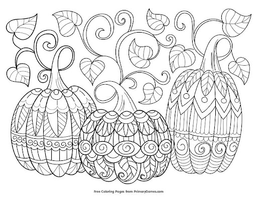 Printables Free Autumn And Fall Coloring Pages