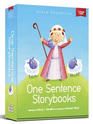 One Sentence Storybooks--Bible Favorites  -     By: Nancy I. Sanders     Illustrated By: Hannah Wood