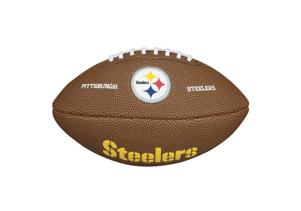 New Wilson NFL Mini Team Logo American Football Junior Mini Size Ball  eBay