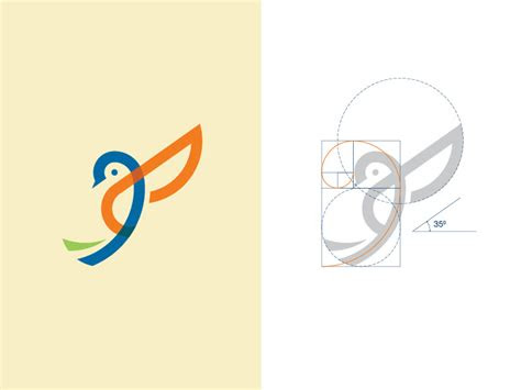bird logo design  dainogo dribbble dribbble