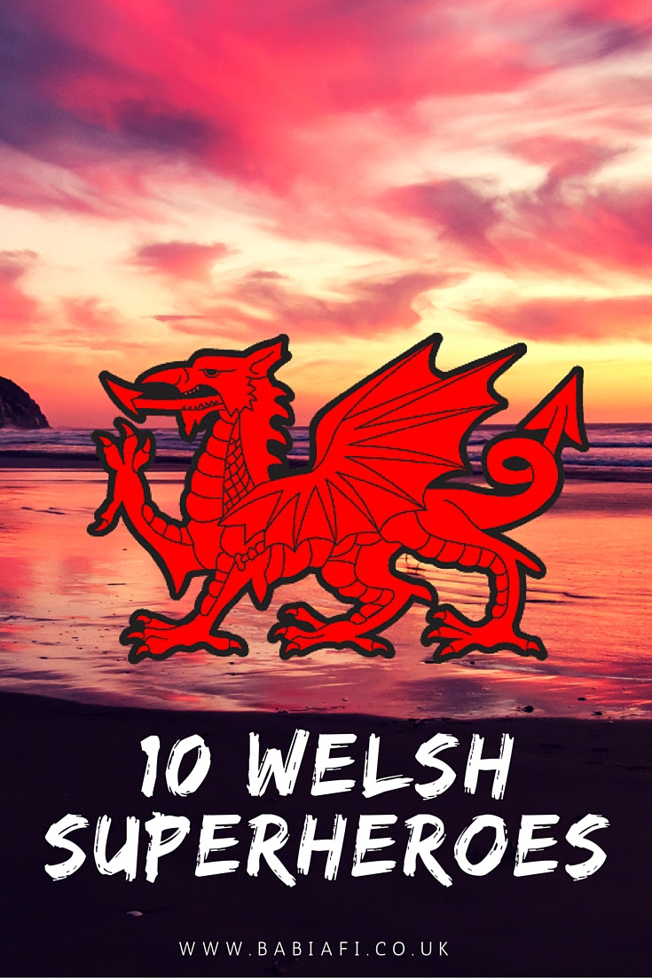 10 Welsh Superheroes