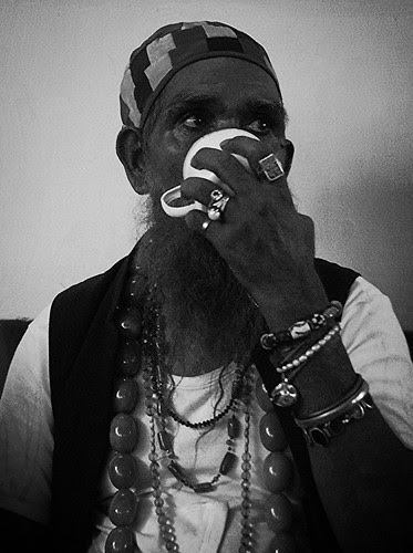 Noubat Ali Baba - Head Of Rafaees Of Jalali Chowk Ajmer by firoze shakir photographerno1