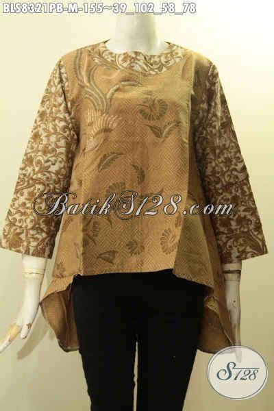 model baju batik blus khas jawa tengah terbaru pakaian