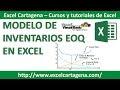 Macro para calcular modelo EOQ de inventarios