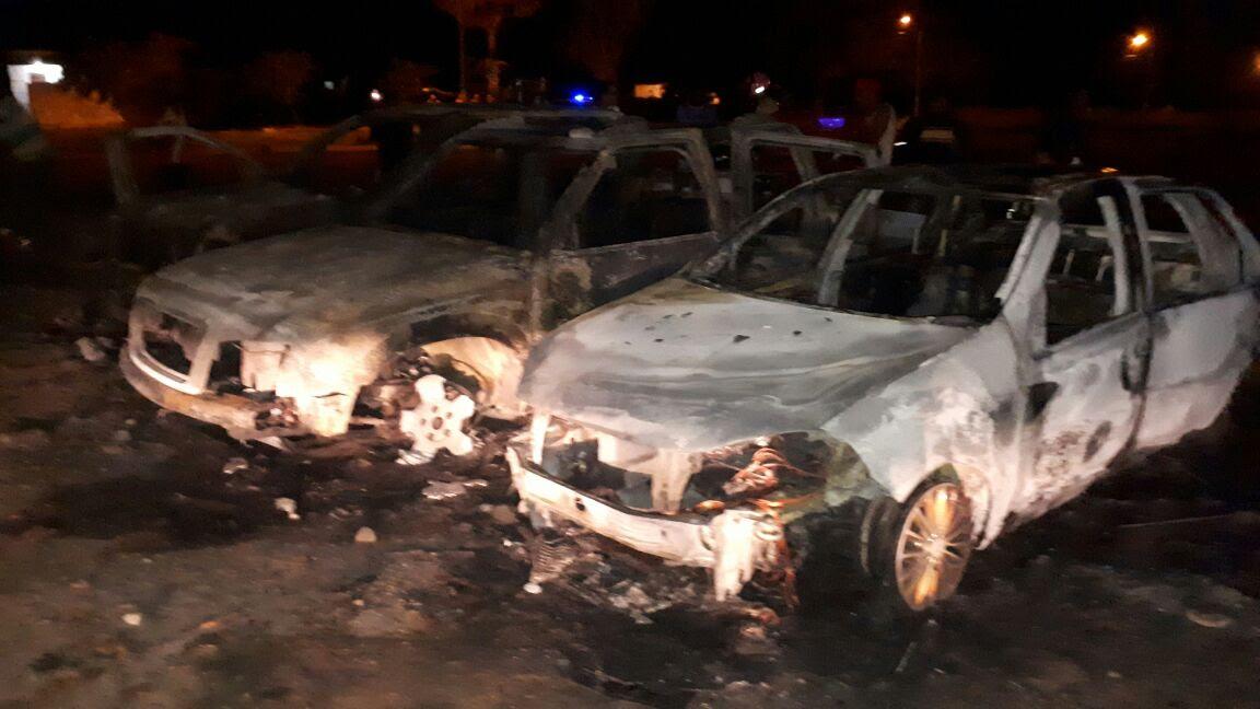 Participantes de bingo beneficente desconfiam de fraude e ateiam fogo em carros