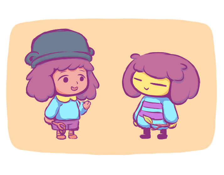 Soup from today's episode reminded me a lot of this other child from a certain videogame I love very much, a game that also happens to have it's 1 year anniversary today! Happy birthday, Undertale!