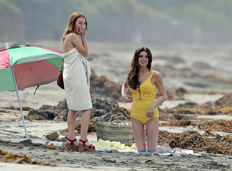 quot ASHLEY GREENE quot Posing Hott In Yellow Bikini The ShangriLa Suite