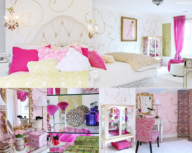frankies room collage