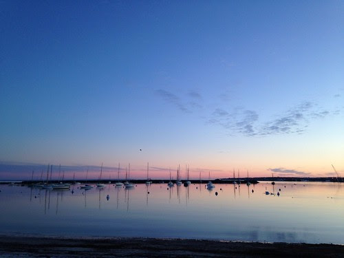 Sunrise on Vineyard Haven Harbor