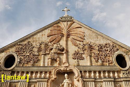Miagao Church bas-relief 2