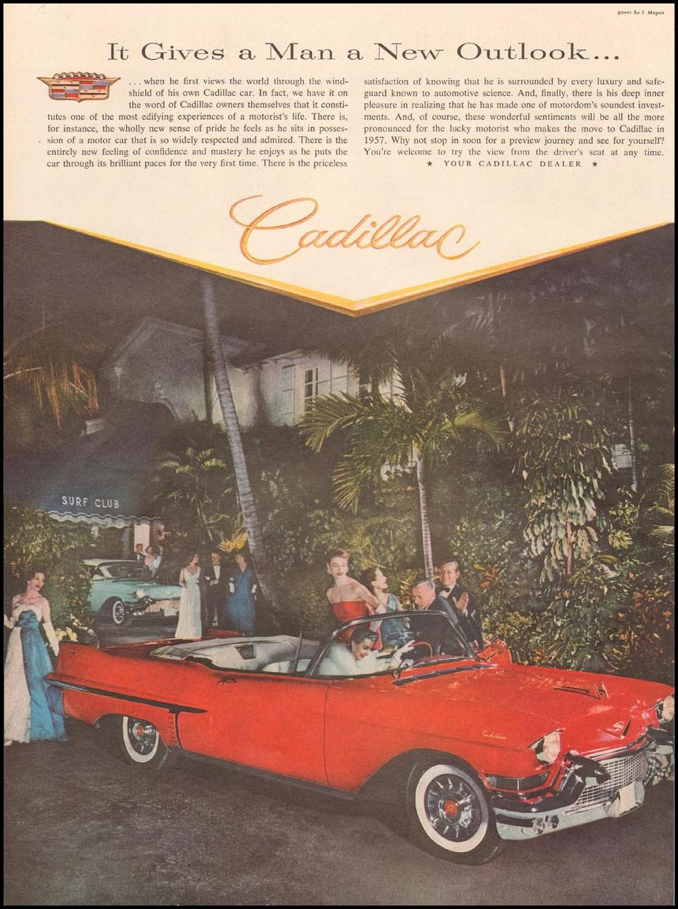 CADILLAC AUTOMOBILES LIFE 04/01/1957 p. 88