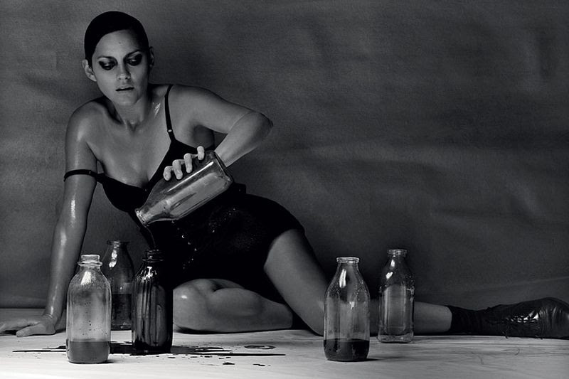 Marion Cotillard by Craig McDean in AnOther Magazine Spring/10