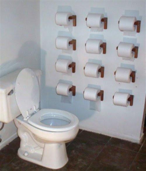 Strange Bathrooms
