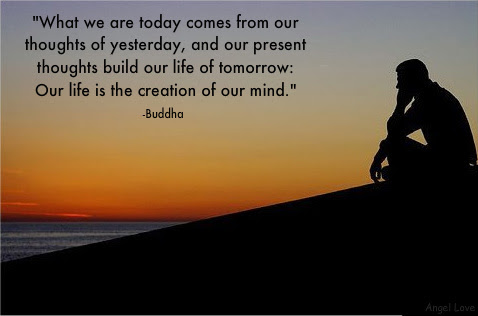 Buddha Quotes What We Are Today Inspirational Quotes Pictures