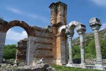 Ἡ μεγάλη βασιλική Β΄, Φίλιπποι Καβάλας, 550 μ. Χ.