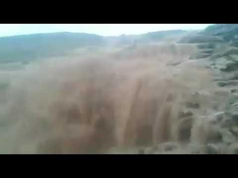Diluvio en el Sahara