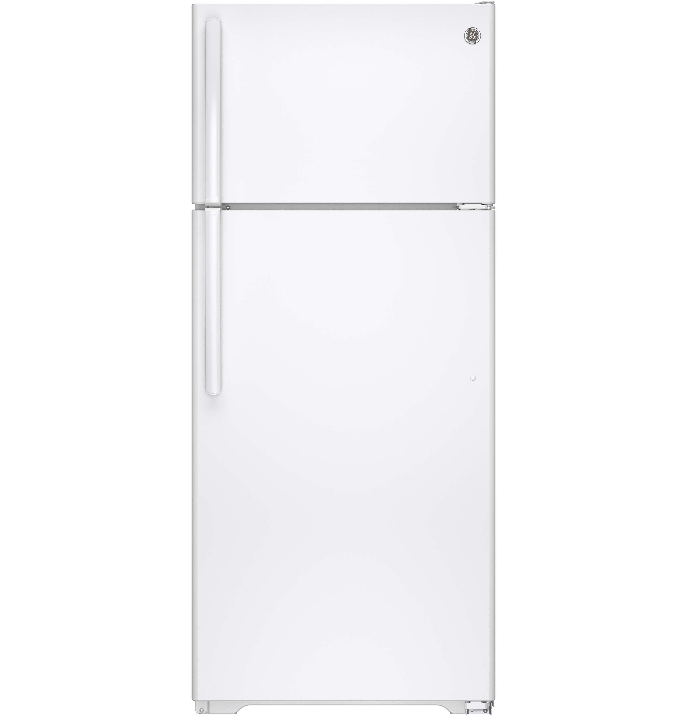 GE 17 5 Cu Ft Top Freezer Refrigerator GTS18GTHWW