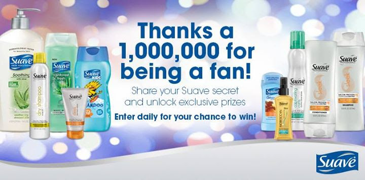 suave beauty sweepstakes