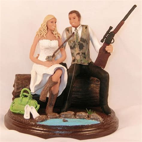 hunting wedding cake toppers cheap   For Future Reference