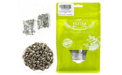 Elitea® 100g Imperial Jasmine Downy Dragon Pearl Buddha Tears Silver Needle White Tea