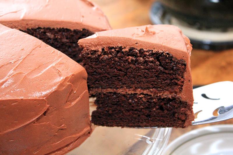 MARTHA STEWART CHOCOLATE CAKE - Durmes Gumuna