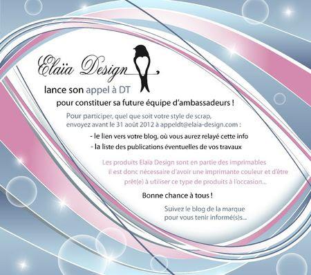 appel dt 2012 elaia design