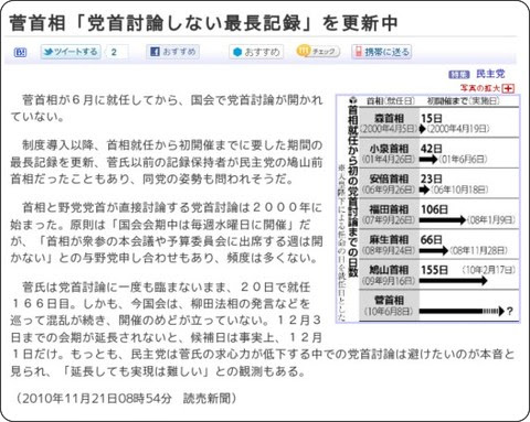 http://www.yomiuri.co.jp/politics/news/20101121-OYT1T00008.htm