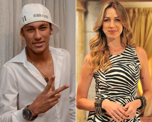 Neymar e Luana Piovani 620 (Foto: Rede Globo)