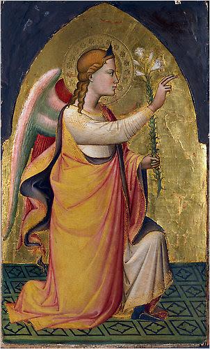 The Annunciatory Angel, 1387, Niccolò di  Pietro Gerini