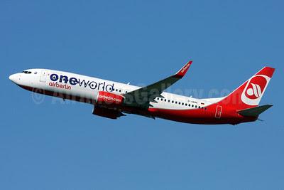 Airberlin (airberlin.com) Boeing 737-86J WL D-ABME (msn 37766) (Oneworld) ZRH (Andi Hiltl). Image: 911760.