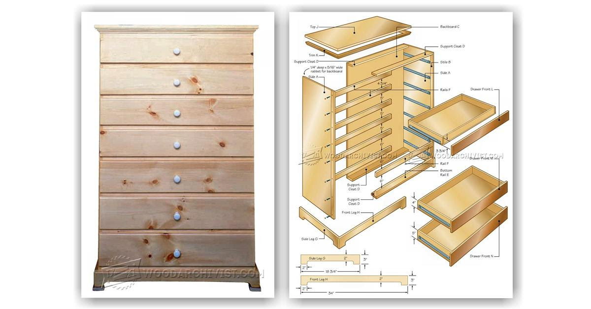 Tall Chest of Drawer