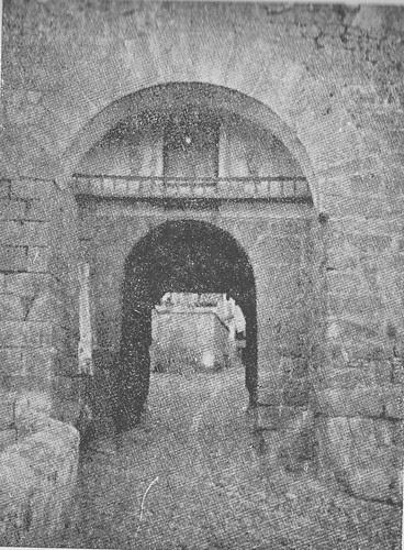 Puerta de Valmardón de Toledo hacia 1900