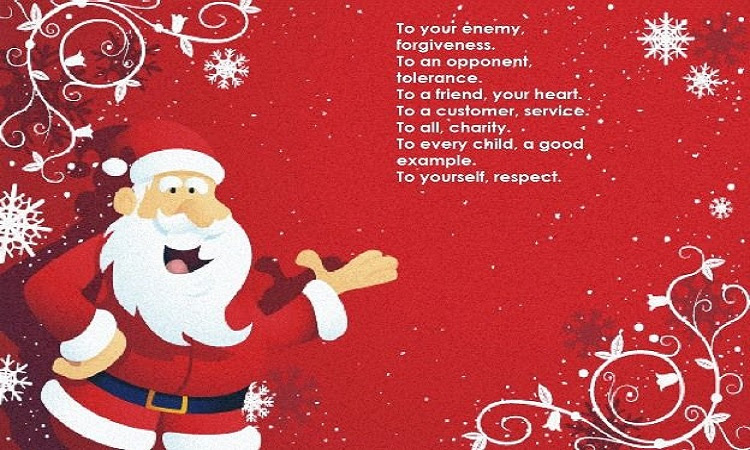 Merry Christmas Poems For Family Friends Poems And Rhymes For