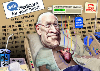 Dick Cheney - Has a Heart