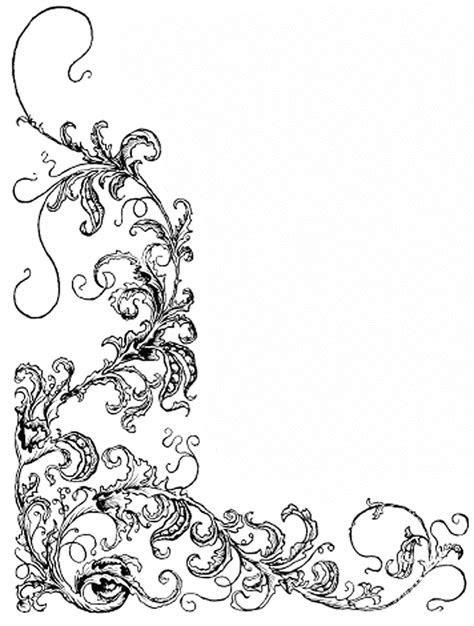 clip art wedding borders free   Floral corner   ClipArt